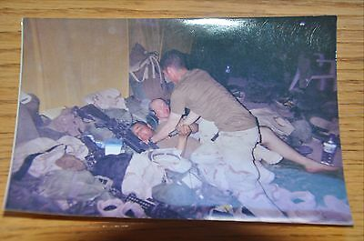 Iraqi Freedom OIF 1st Armored Photograph 5 x 7 wrestling in the text next to 203