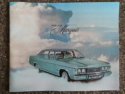 1976 Ford Fairlane ''marquis''  Sales  Brochure  100% Guarantee