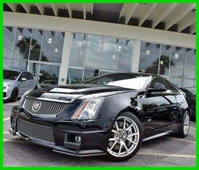 2011 Cadillac CTS Supercharged 2011 Supercharged Used 6.2L V8 16V Automatic RWD Coupe OnStar Premium Bose