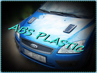 Focus RS MK2 style ABS plastic bonnet vents universal.!!!Without cutting-HIT!!!!