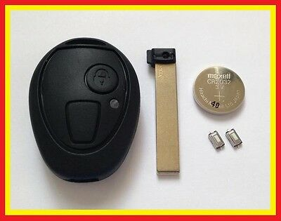 Bmw Mini R50 One Cooper Rover 75 Mg Zt Zr Remote Key Fob Case Repair Kit Valeo