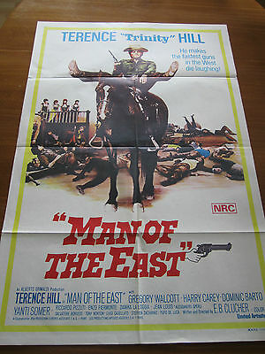 Man of the East - 1972 - Orig Australian 1 sheet Poster