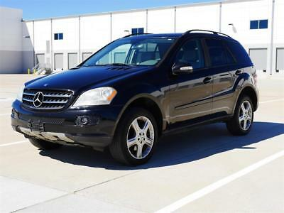 2006 Mercedes-Benz M-Class ML 350 - LTHR ST, PWR ST, FULL OPTION 2006 Mercedes-Benz ML 350 - LTHR ST, PWR ST, FULL OPTION Automatic 4-Door SUV