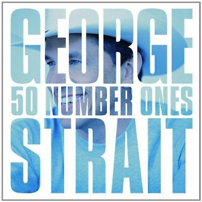STRAIT GEORGE - 50 Number Ones - 2 CD - Best Of - **BRAND NEW/STILL SEALED**