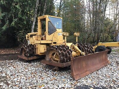 Caterpillar 815 Padfoot Soil Compactor Cat Sheepfoot Shell Drum