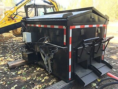 Asphalt Hot Box Reclaimer Hde 4Thbrt 4 Ton Hot Box Heater Asphalt Patch