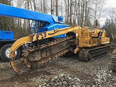 Vermeer T655 Trencher Rock Saw On Tracks Ditch Witch