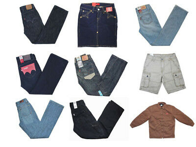 500pc Wholesale Bulk Levis Dickies AG Skirt Jeans Jacket Lots of Mixed Styles