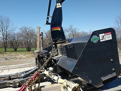Erskine Model 720FM Tractor snowblower WITH FRONT MOUNT ATTACHMENT all Complete