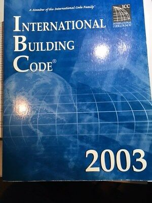 International building Code 2003, Hard Cover, Excellent condition