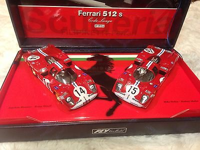 Rare Fly Ferrari 512 CL Team Flipinetti 1970 LE MANS Historical Teams set