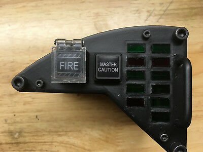 F/A-18 Aircraft LEFT WARNING FRONT CONSOLE INDICATOR PANEL