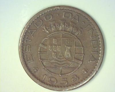 Portugal India 1958 Ten Centavos Km30  About Uncirculated ~Ma638