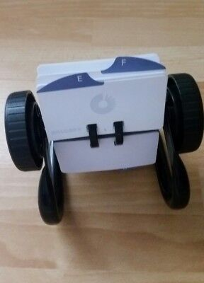 Rolodex with blank index cards