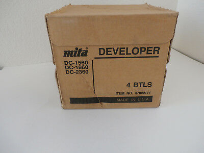 New Box of 4 Kyocera Mita 37016111 Developer 1530/2310/3010, OEM Low Shipping!