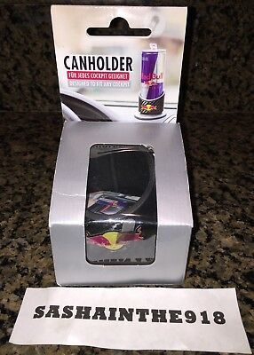 Red Bull Can Holder Energy Drink Fits Any Dashboard New