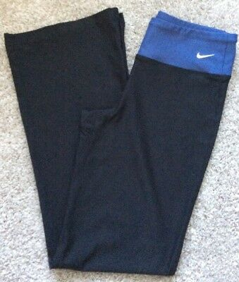 Nike Fit-Dry, Black Athletic Yoga/Running Pants - Womens Size XS