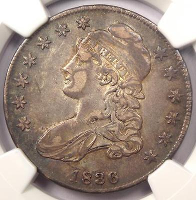 1836 Capped Bust Half Dollar 50C O-119 - NGC XF45 (EF45) - Rare Certified Coin