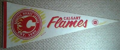Vintage Calgary Flames NHL Full Size Pennant