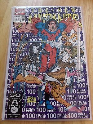 The New Mutants #100 Marvel,1991 2Nd Print Variant 1St App X-Force Nm
