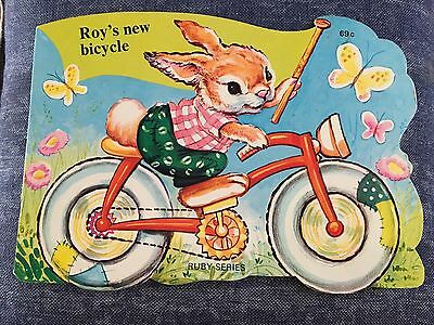 ROY'S NEW BICYCLE - Anomyomous -VINTAGE Children's Book - SC - Modern Promotions