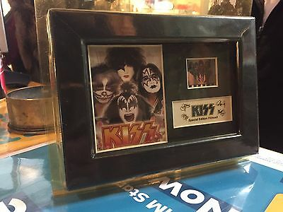 Kiss Special Edition 35 Mm Filmcell With Coa !!