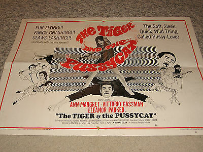 Tiger & The Pussycat 22X28 Poster Ann Margret Vittorio Gassman Eleanor Parker