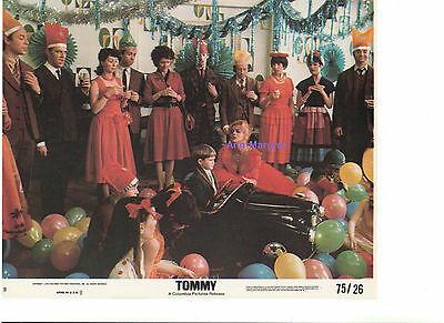 Tommy Ann Margret Barry Winch As Young Tommy Vintage Original Color 8X10 Still