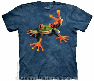 Victory Frog T-Shirt in Adult Sizes - Fun Frogs by The Mountain T-Shirts