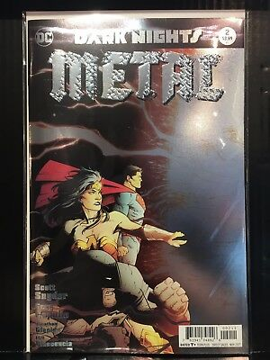Dark Nights Metal #2 NM- 1st Print DC Comics
