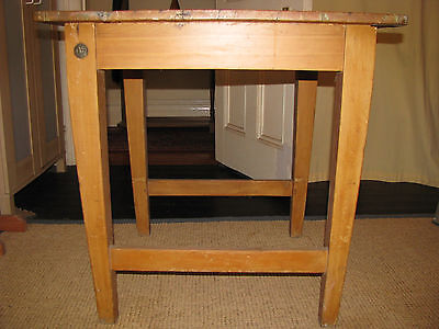 Old Pine Kitchen Dining Table Work Bench