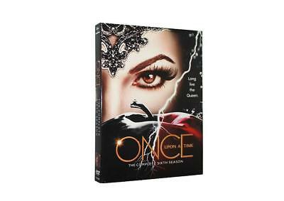 Once Upon a Time Season 6(DVD,5-Disc Set) Free Shipping from USA