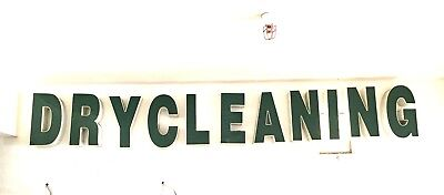 Dry Cleaner Store Front Signs