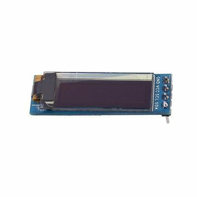 0.91 Inch OLED Display Screen DC 3.3V To 5V SSD1306 Driver IC DIY Module P6
