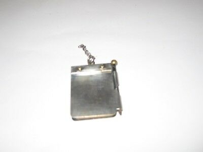 Antique1900 Cooper Siegel Co of NY  miniature ad notepad with calendar