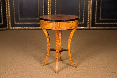 High-quality Side Table Table in the Biedermeier Style South German
