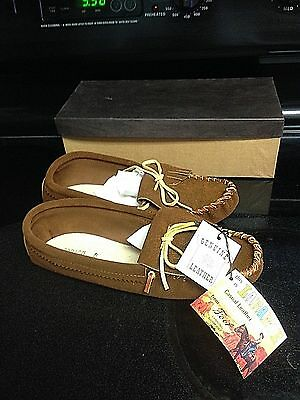 Vintage Red Wing Chequamegon Moccasins, Old Store Stock, for collectors, Mens 8
