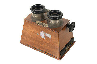 Stereoscope Wooden Viewer by Verascope Richard c.1890s