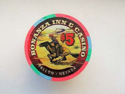 Bonanza Casino -  Fallon, NV -  OBSOLETE CASINO CHIP