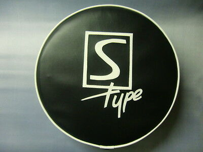 Black/White S Type Scooter Wheel Cover