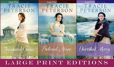 Heart of the Frontier LARGE PRINT Series Collection Set 1-3 by Tracie Peterson