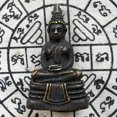 Powerful Buddha Phra LP. Sothorn Thai Amulet Talismans Life Protect Wealth Lucky