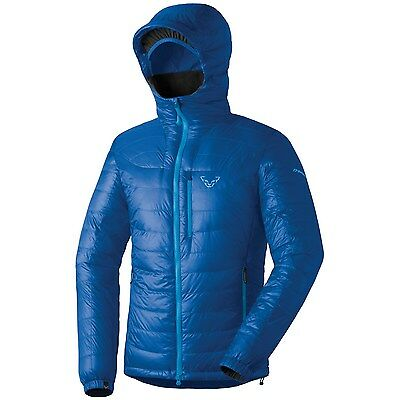 New! Blue Dynafit Cho Oyu Hooded Down Jacket Men's, Winter Snow Ski Size Large