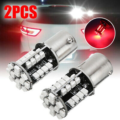 2x 1156 BA15S P21W 3528 44LED Canbus No Error Car Tail Brake Light Bulb Red