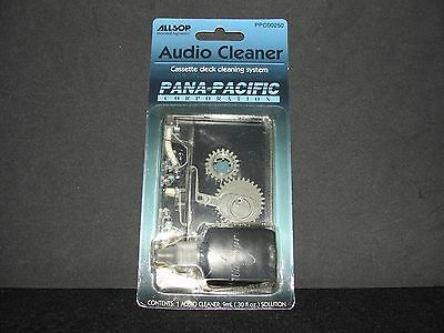 New ALLSOP Audio Cleaner Cassette Tape Deck Cleaning Wet System PPC-00250 - NOS