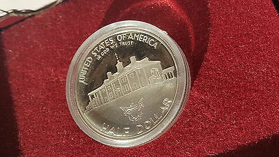 1982 American Silver Proof 1/2$ George Washington Half Dollar 1732-1982 'S'  #a