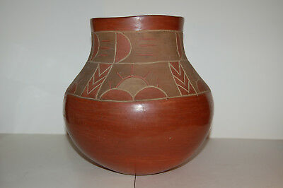 San Juan (Ohkay Owingeh) incised pottery jar, probably 1930s-40s, unsigned