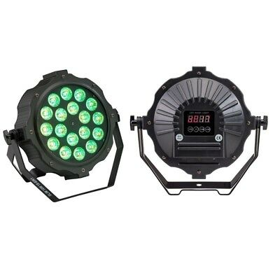 Soundsation Sestetto 1018 SLIM Par Led Proiettore a LED 18 x 10 Watt RGBWAV 6IN1