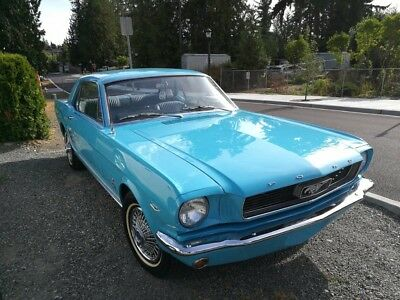 1966 Ford Mustang Sports Coupe 1966 Ford Mustang Sport Coupe 289 V8 Factory C-Code 60k Miles 65 67 68