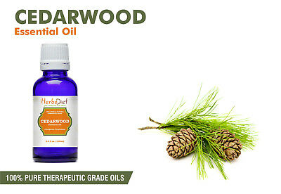 Cedarwood Essential Oil 100% Pure Natural PREMIUM Therapeutic Grade Oils
